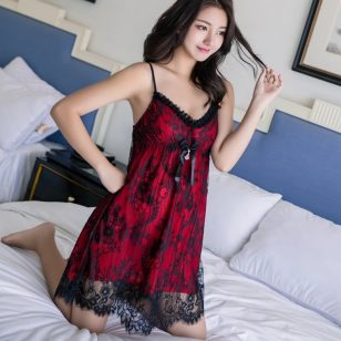 Lace Tow Tone Flower Lace Baby Doll